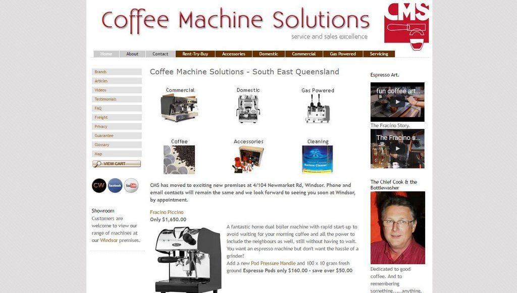 Coffee Machine Solutions
