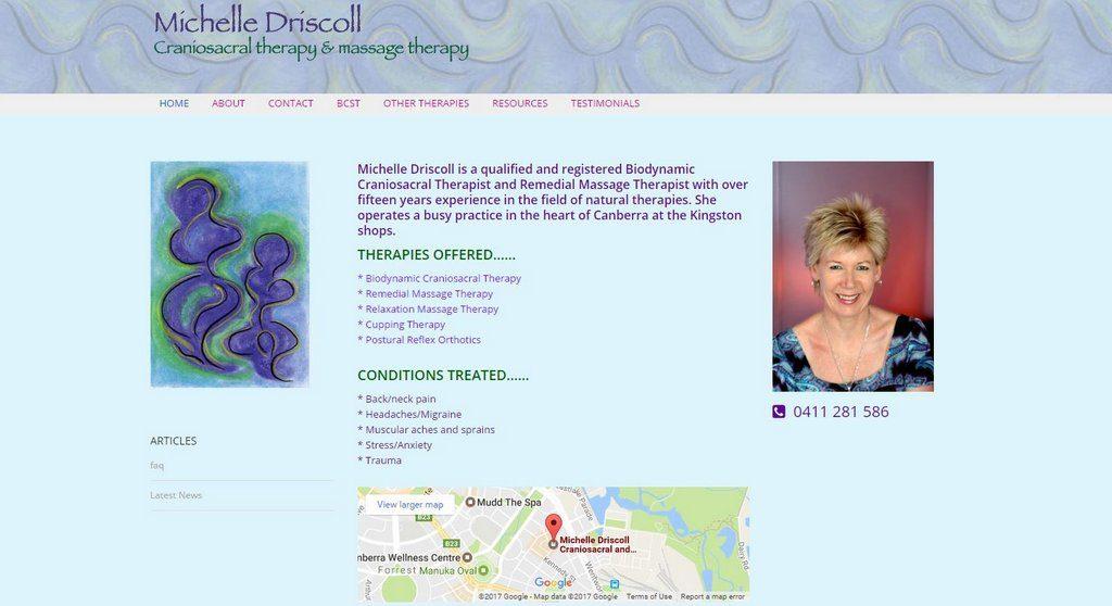 Michelle Driscoll - Craniosacral