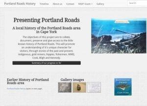 presenting portland roads